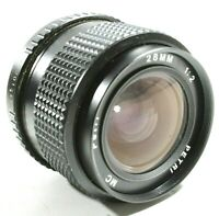 Petri 28mm F2 Camera Lens PK Mount UK Fast Post