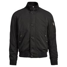 Polo RALPH LAUREN Lightweight Military/Moto/Biker/Café Racer Jacket Black sz M