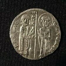 VENICE VENEZIA GROSSO MATAPAN 1253-1268 RANIERI ZENO DOGE SILVER