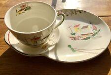 Vintage ALFRED MEAKIN TV Cup & Tray Brixham  106 Y