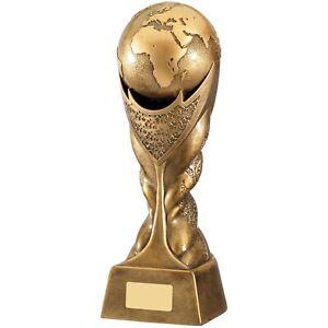 Karate Taekwondo Martial Arts Award Gold Finish Trophy - Free Engraving RM018
