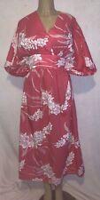 Vintage Hilo Hattie Caftan Kaftan Muumuu Aloha Kimono One Size Floral Hawaii