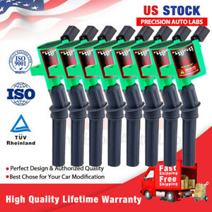 8 Pack Ignition Coil For Ford F150 Expedition 4.6L 5.4L 2000 2001 2002 2003 2004