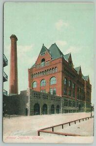 Chicago Illinois~Armour Institute~Gunsaulus $1M Sermon Builds Tech College c1908