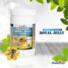 Healthway Premium Royal Jelly 1200mg. Supplements Fantastic Product 365 Tablets