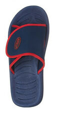 Men's Leisure Adjustable Strap Slide Slippers w/ Colored Accents