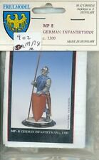 Friul Model 54mm 1:32 German Infantryman c.1300 Metal Figure Kit #MP8
