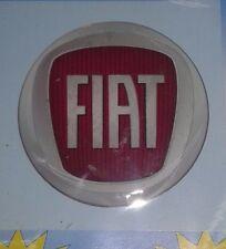 FIAT ROSSO 1 PZ Decorflex adesivo 52mm Logo Adesivi Cod. 03.505/22R