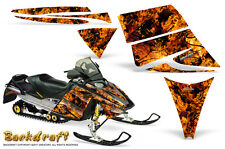 SKI-DOO REV MXZ 03-09 SNOWMOBILE SLED CREATORX GRAPHICS KIT BACKDRAFT ORANGE