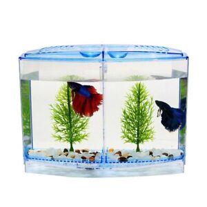 Mini Fish Tank Aquarium Betta Tank Transparent Arcylic Fish Breeding Box