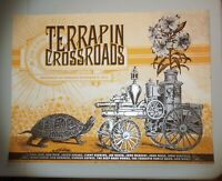 TERRAPIN CROSSROADS 2012 REOPENING POSTER GRATEFUL DEAD PHIL LESH BOB WEIR