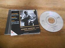 CD Klassik Henryk Szeryng - Beethoven/Brahms/Bach (11 Song) AURA REC jc WoC