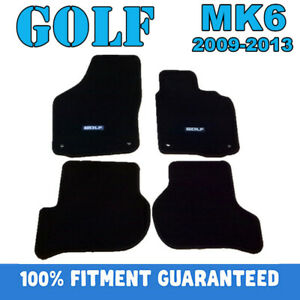 PREMIUM Prestige Carpet Floor Mats for VW GOLF MK6 GOLF6 2009-2013 Customized