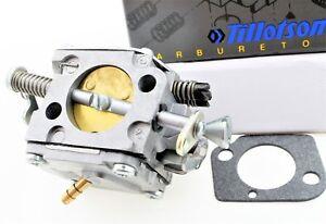 Genuine Tillotson carburetor & mounting gasket fits Jonsered saw 2094  503280318