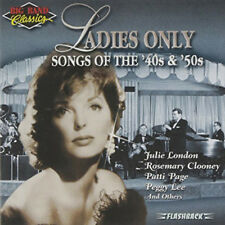 (CD) Big Band Classics - Ladies Only: Songs Of The'40s & '50s (1997 Rhino)