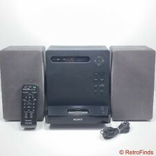 New listing Sony Stereo System Cmt-Lx20i Fm Am iPod Cd Mp3 Player w/ Remote + Cords