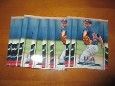 Lot (10) JOE DEMERS Card #27 Washington 2013 Panini USA Baseball Box Set