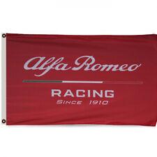 Alfa Romeo Racing Flag Banner3X5 Feet MAN CAVE
