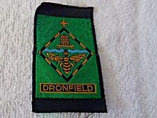 "Dronfield Girl Guides Cloth Patch 2 1/4"" by 1 1/4"""