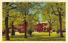 HICKORY, NC North Carolina  LENOIR RHYNE COLLEGE Mauney Hall  c1940's Postcard