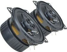 "Vauxhall Opel Astra H 2005 onwards Ground Zero speakers 4"" rear+Adapter Brackets"