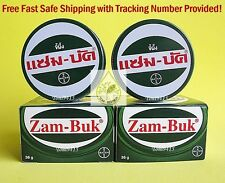 4 x 36 grams ZAM BUK Herbal Ointment Balm Insect Itch Mosquito Bites Pain Relief