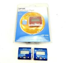 Lexar Digital Music Players 1 Red New 2 Blue 3 Sets Not Tested New In Packaging