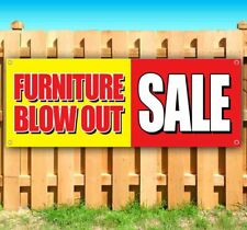 New Listingfurniture Blow Out Sale Advertising Vinyl Banner Flag Sign Many Sizes