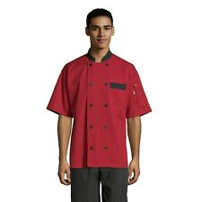 Chef Jacket Red Olive, Stone Slate sizes Bristol Xs to 3Xl 0423