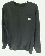 Carhartt Black Pullover Sweatshirt Mens XL Tall