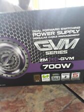 Zalman 700W 80 Plus Bronze doble hacia adelante PC Power Supply 115-230V #ZM700-GVM_NV