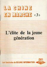 Beijing Information/La Chine en marche/3/L'élite de la jeune génération/1983