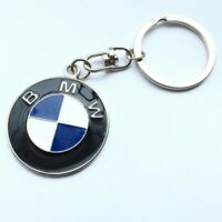 Porcelain BMW Metal Logo Car Keyring Keychain Key Chain Pendant Holder