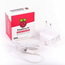 Raspberry Pi 4 Official Power Supply (5.1V - 3A) White with EU Plug