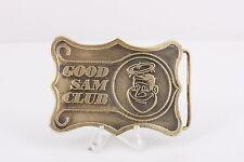 GOOD SAM CLUB VINTAGE BELT BUCKLE 1975 PPI  0271