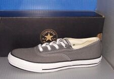 CONVERSE CHUCK TAYLOR CT CLEAN CVO OX CHARCOAL SIZE 8 MENS 10 WOMENS US