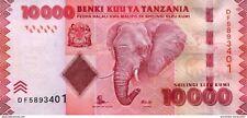 TANZANIA 10000 SHILLINGS ND (2015) P-44b UNC SIGN. UNKNOWN & NDULU [TZ143b]