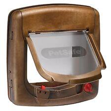 PetSafe Staywell Magnetic 4 Way Deluxe Cat Flap Pet Door Locking UPVC 420EF