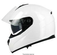 Casque Moto / Scooter Intégral S-Line S440 double visière blanc taille XXL
