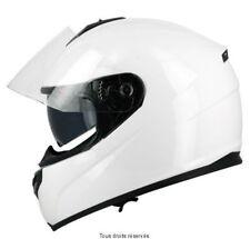 Casque Moto / Scooter Intégral S-Line S440 double visière blanc taille L