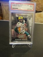 2016 Panini Prizm College Draft Picks Carson Wentz Rookie #127 PSA 9