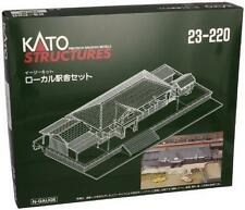 Kato Rural Station Set N Scale 23-220 Mint