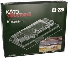 Kato Rural Station Set N Scale 23-220 Mint