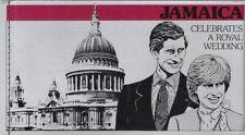 Jamaica 1981 Royal Wedding Booklet, 2 panes, Scott #354 - pw67
