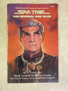 Autograph Signed Mark Lenard Star Trek The Official Fan Club 1986 Vulcan Issue