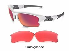 Galaxy Replacement Lenses For Oakley Flak Jacket XLJ Sunglasses Prizm Ruby Golf