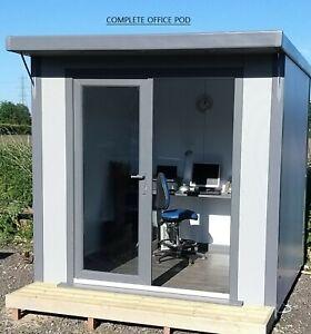 Best Value Garden Room: High Insulated SIP Panel Maintenance Free Garden Office