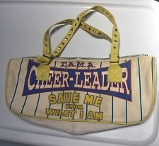DG Dolce Gabbana I Am A Cheerleader Save Me Bag Purse Handbag Satchel