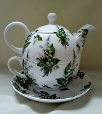 Lilly of the Valley Fine Bone China Tea for one