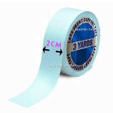 3 Yard 2cm Width 2 Side Lace Front Wig Making Cap Hair Extension Super Tape 986n